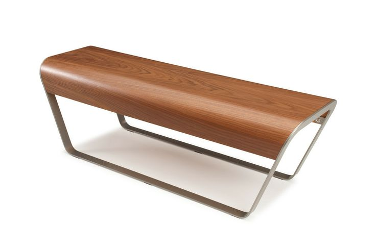 Cool but not big enough.  MOMO Bench - Walnut - Offi - $799.00 - domino.com