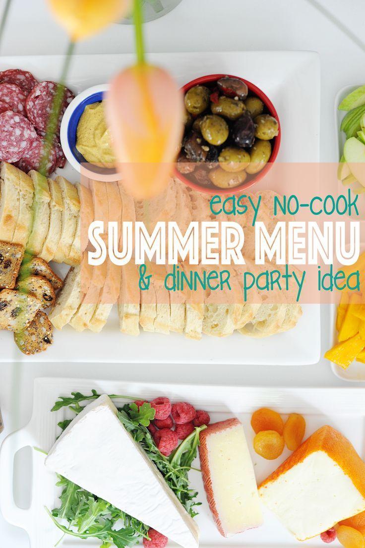 Idées Repas De Fête Entre Amis title} (avec images)   dîner d'été, diner entre amis, idée
