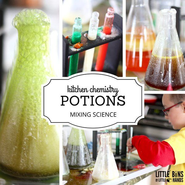 Kitchen Chemistry Potion Mixing for Kids