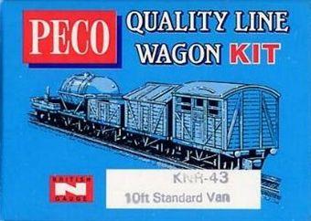 KNR-43 Standard type box van kit £3.50