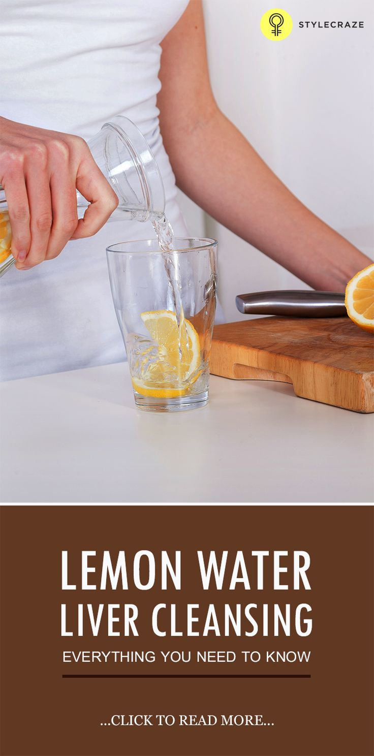 Lemon Water Liver Cleansing- Everything You Need To Know