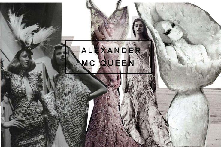 Alexander McQueen - das Enfant terrible der Modeszene. Ich habe einiges über seinen Lebenslauf gelernt und versucht Figurinen in seinem Stil zu zeichnen.