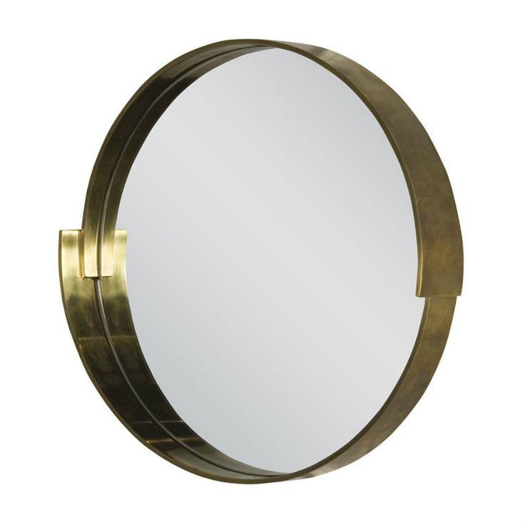 9 Sommertrends von Goldspiegel | Metal und Rund Goldspiegel ist immer ein gute Wohnidee. | wohn-designtrend.de/ | #goldspiegel #wohnzimmerdesign #luxumobel #einzigartigspiegel