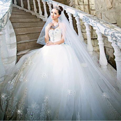 Robe Robe De De Diamant Mariee Blanc Diamant Mariee Diamant