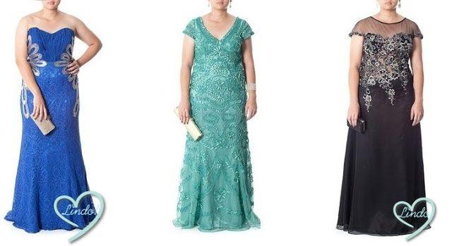 Madrinhas de casamento: Vestidos de festa para gordinhas