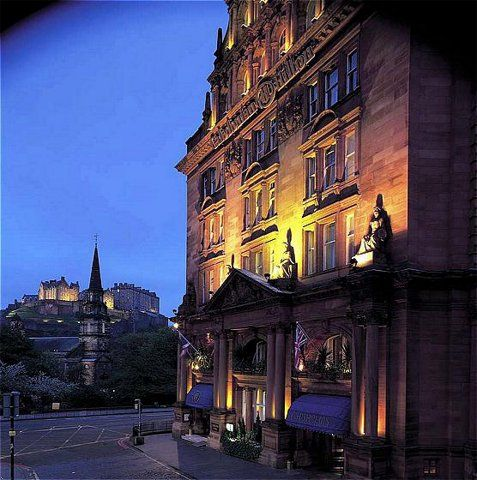 Caledonian Hilton Edinburgh Hotel in Edinburgh, United Kingdom at Hotels of the Rich and Famous