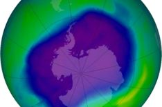 Good news: The hole in the #ozone layer is finally starting to heal #GoGreen