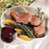 TLC | Grilled Lamb Loin Chops with Shallots and Red Wine