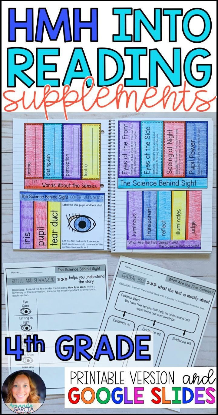 Into Reading Houghton Mifflin 4th Grade Supplements Reading Curriculum Interactive Notebooks Reading [ 1371 x 720 Pixel ]