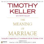 Few subjects are as compelling-or as endlessly variable-as love and marriage. The Bible is filled with references to husbands and wives, from the story of Adam and Eve to advice in the New Testament, each open to interpretation. In The Meaning of Marriage, Timothy Keller, pastor of New York's Redeemer Presbyterian Church and bestselling author of The Reason for God, uses the scriptures as his guide to show readers what God's call to marriage is, and why this is such a powerful call.