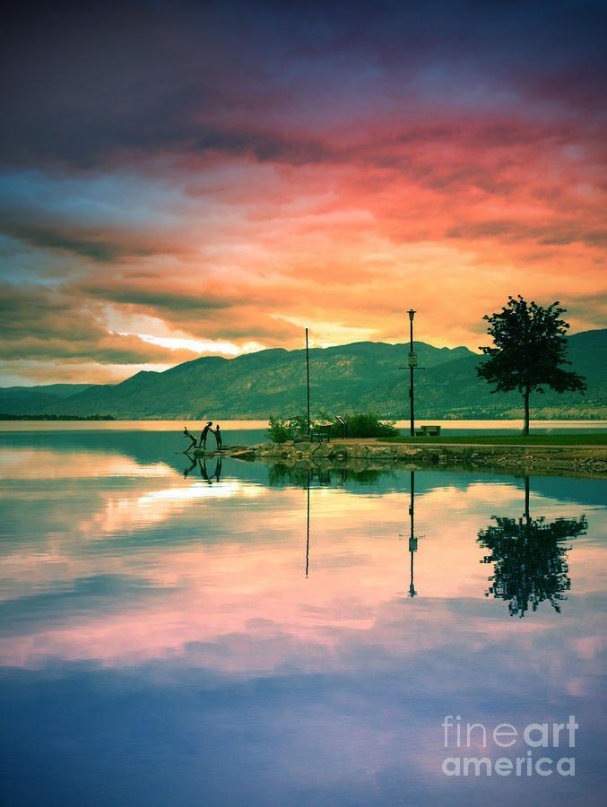 Okanagan Lake, Penticton BC Canada #GILoveBC