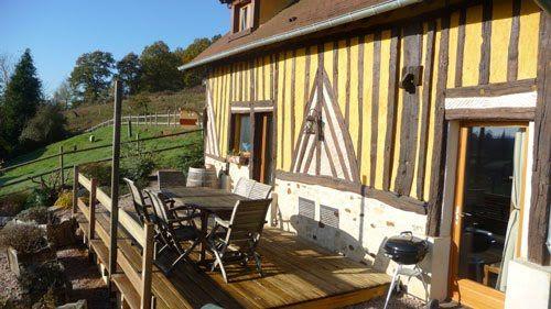 La Chevrerie : Gîte pour 5 à 6 personnes en Normandie - Location de gite en Normandie