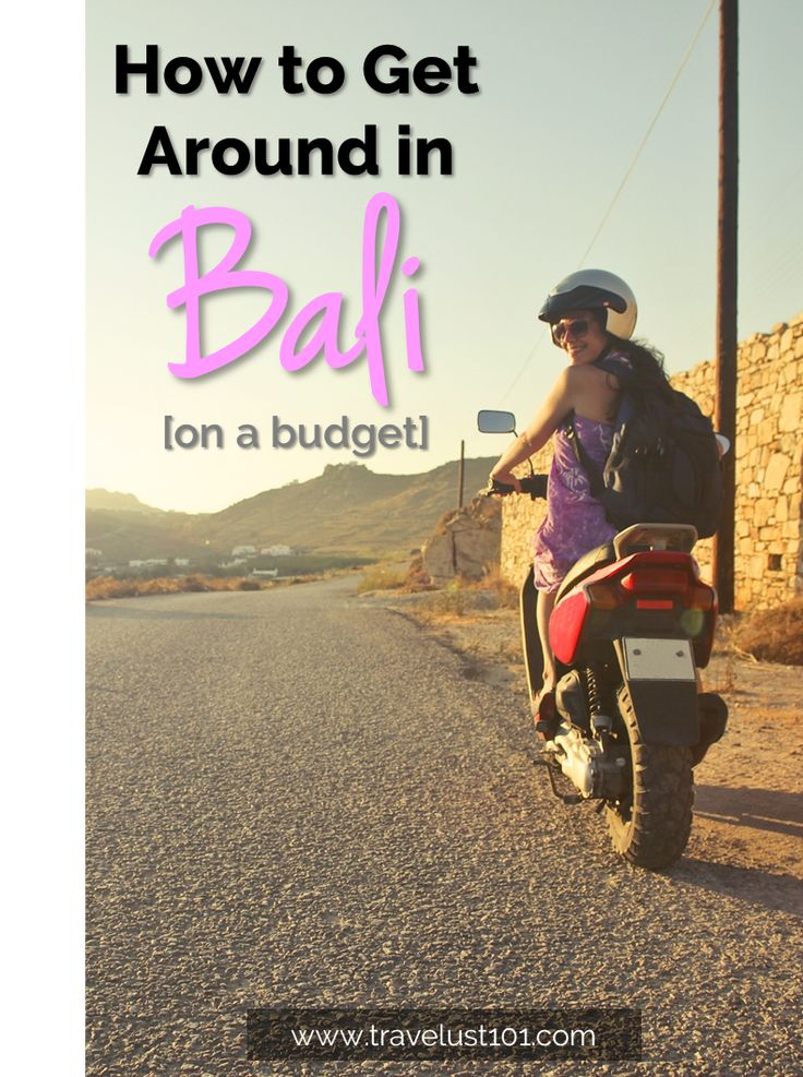 7 Cheap and Simple Ways to Get Around Bali