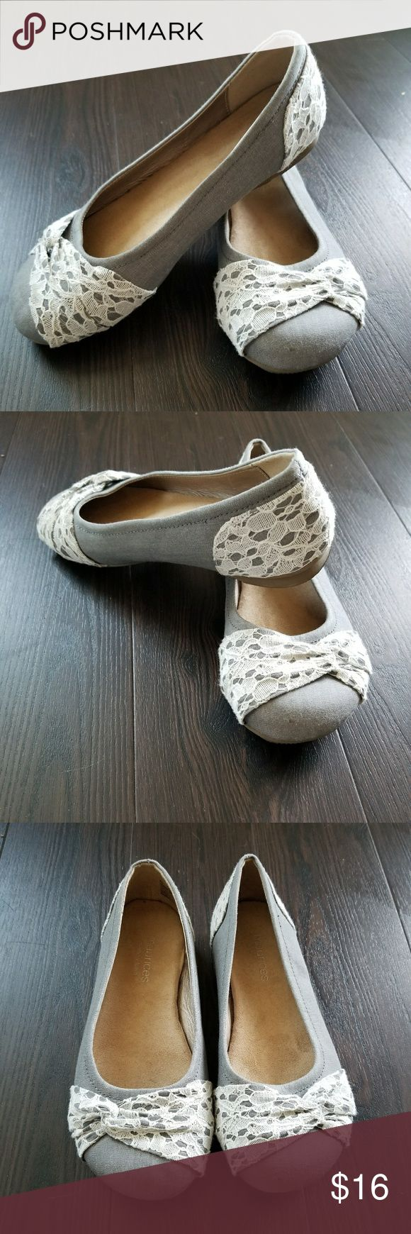 Gorgeous Maurices flats Size 7 Maurices memory foam. Size 7. Only wore these 3 times- still look new! Memory foam makes them much more comfortable than normal flats.   BUNDLE AND SAVE! Maurices Shoes Flats & Loafers