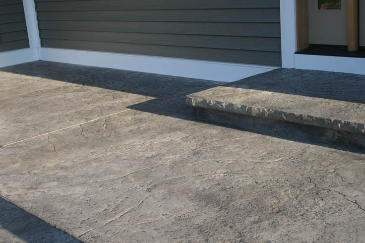 Seamless Stamped Concrete Patio Ideas Pinterest