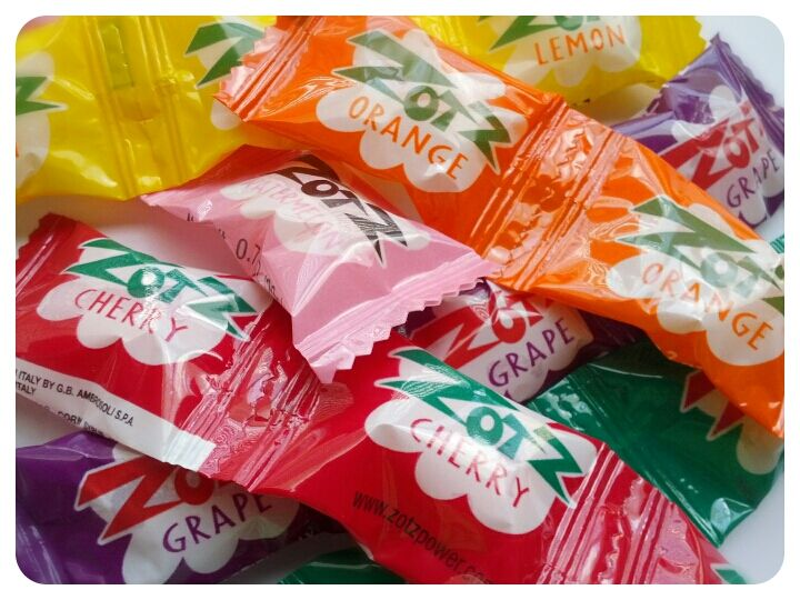 Zotz Candy ~ Loved these as a kid and still love them today. That is when I can find them.