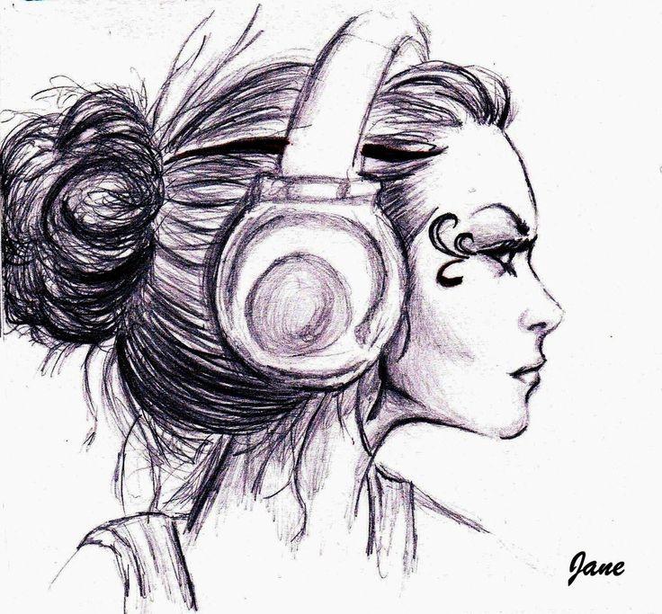 girl_with_headphones_by_jane_slash-d60s6bx.jpg (1024×951 ...