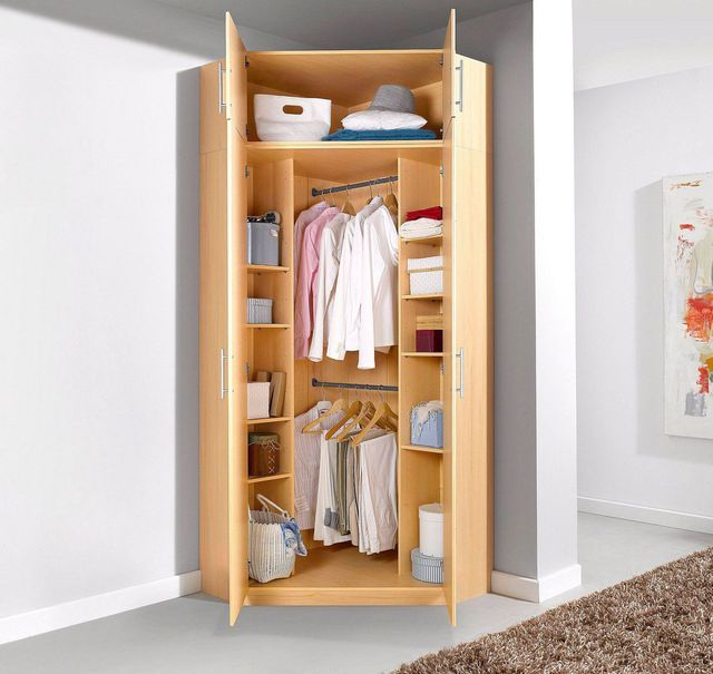 Best 25 armoire angle ideas on pinterest dressing angle armoire d 39 ang - Armoire penderie 3 portes ...