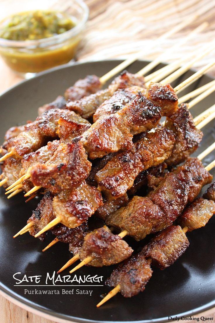 Sate Maranggi - Purwakarta Beef Satay