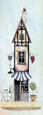 Tall Storeys II by Gary Walton, Art Print
