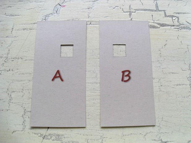 skabelonens A- og B-side