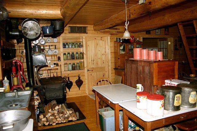 kenny lake inside an alaska homestead kitchen in kenny lake near the wrangell mountains. Black Bedroom Furniture Sets. Home Design Ideas