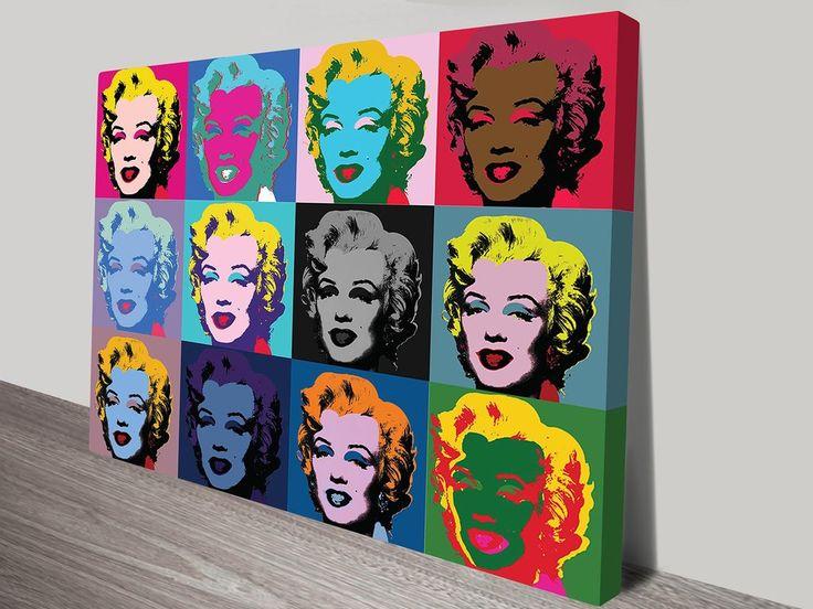 Marilyn Monroe 1 By Andy Warhol