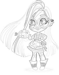 Hairdorables Dolls Coloring Pages Coloring Filminspector Com Kid S
