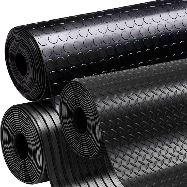 Black Anti Slip Shed Van Garage Workshop Rubber Flooring Matting Roll 1.5m x 3mm in Home, Furniture & DIY, DIY Materials, Flooring & Tiles | eBay!