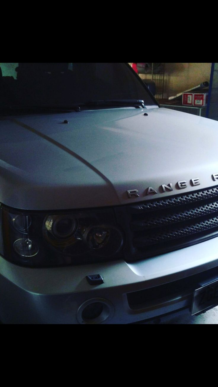 "2006 Range Rover Sport HSE 4.4 litre V8 300 HP  Gasoline Arctic Silver Black Interior with silver accents 22"" Overfinch Wheels (silver) Mileage: 22,226 Miles  Price: 2,500,000 Garage kept, never parked outdoors Slightly Negotiable  #sportscars #rangerover #bmv #luxurycar #jeepcherokee #landrover"