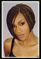Short Box Braid Bob Styles
