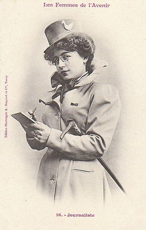 """Women of the Future"" by A. Bergertet, 1902"