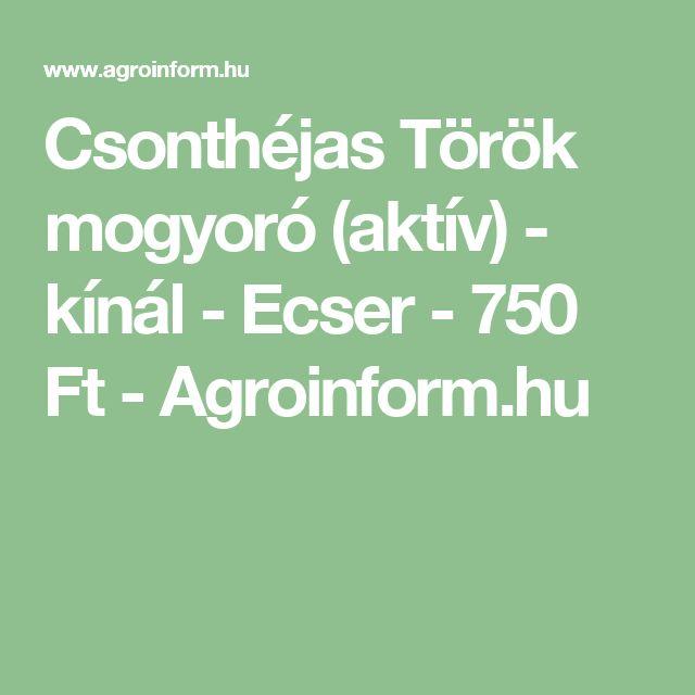 Csonthéjas Török mogyoró (aktív) - kínál - Ecser - 750 Ft - Agroinform.hu