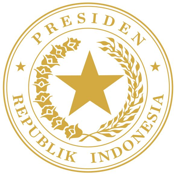 Indonesian Presidential Seal gold.svg