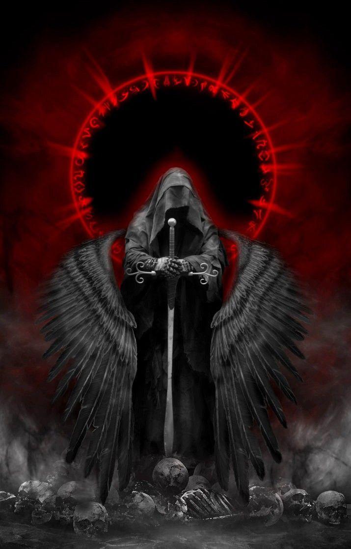 Reaper Dark Angel Wallpaper Gothic Wallpaper Gothic Fantasy Art