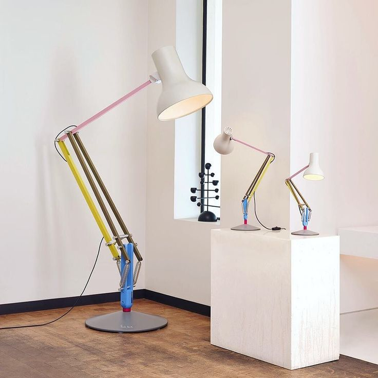 Have you seen the new Anglepoise  Paul Smith collaboration? These lamps come big or small with delightful pastel & primary colors for a truly magical design. Have a peek at the Paul Smith Store in the SoHo Design District 142 Greene Street through Wednesday 24 May  . . Pop-up Hours:  Mon 22 May 11am-9pm  Tues 23 May 11am-7pm  Weds 24 May 11am-7pm . Details: http://ift.tt/2r7gvNx www.paulsmith.com/us 1-646-613-3060 . . . #sohodesigndistrict #soho #sohonyc #anglepoise #paulsmith…