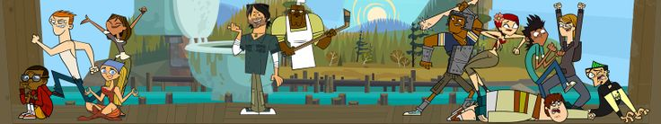 Total Drama Background