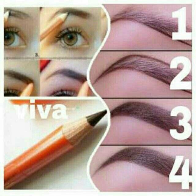 Saya menjual VIVA Eyebrow pencil BPOM / Pensil Alis Viva - Pencil Alis Viva seharga Rp50.000. Ayo beli di Shopee! https://shopee.co.id/cosmetic_hq/47986749