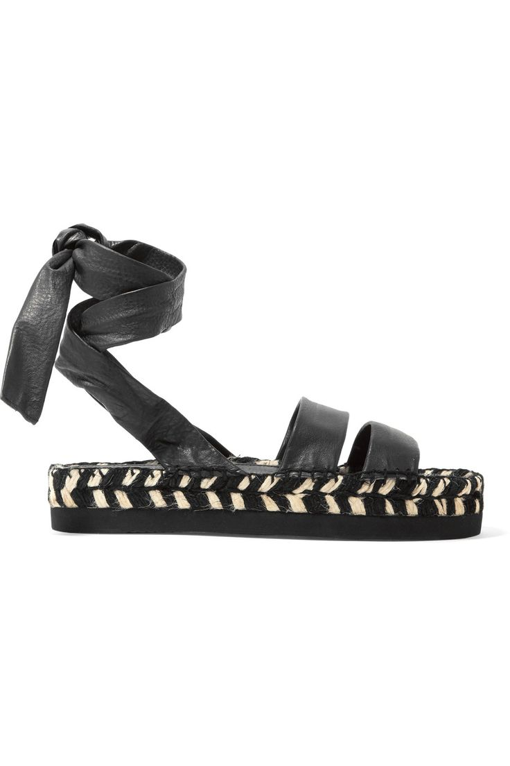 Shop on-sale Paloma Barceló Ambra leather espadrille sandals. Browse other discount designer Espadrilles & more on The Most Fashionable Fashion Outlet, THE OUTNET.COM