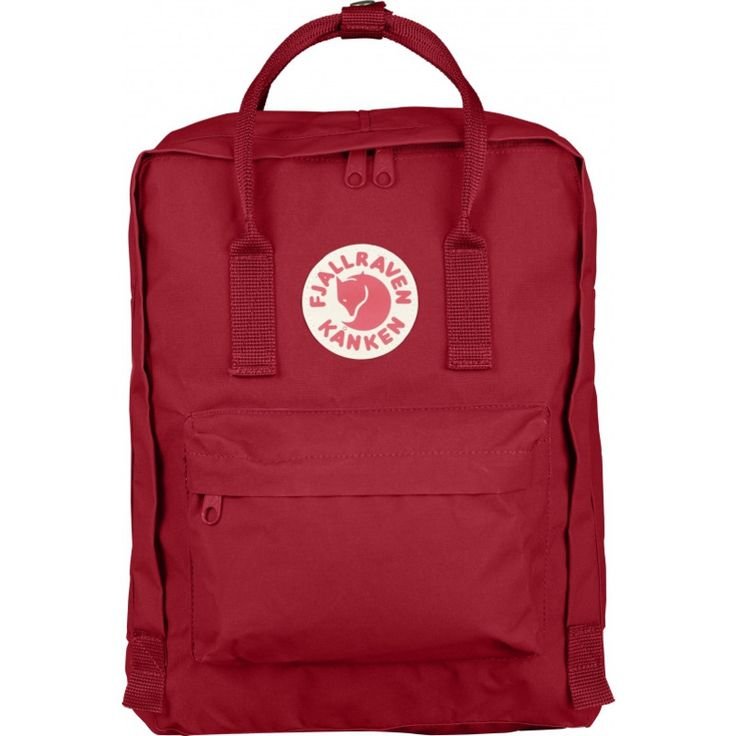 Fjällräven Kånken Backpack | Deep Red