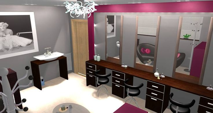 Róż - salon fryzjerski