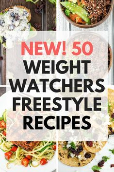 50 Weight Watchers Freestyle Recipes - Slender Kitchen. Works for