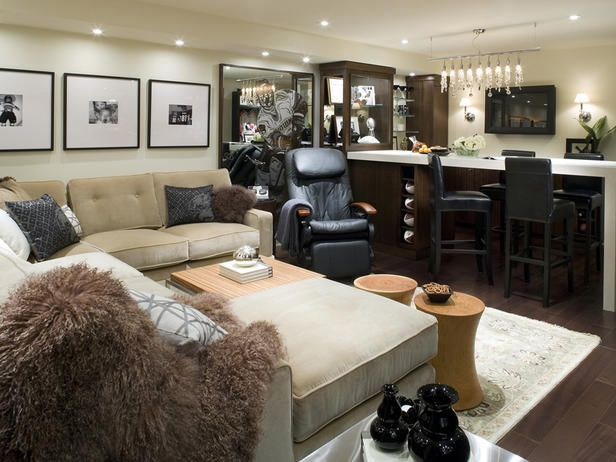 basement makeover ideas from candice olson - Basement Decorating Ideas