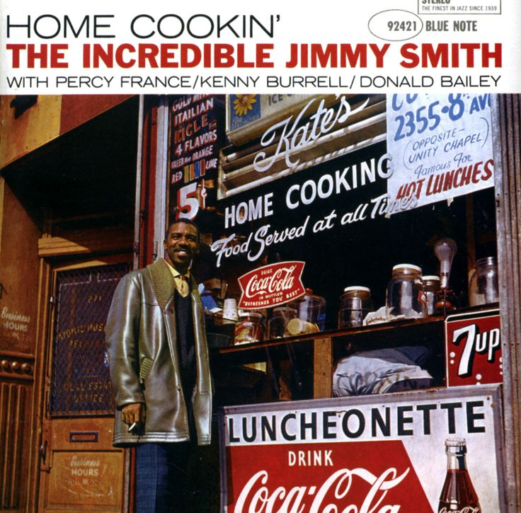 Jimmy smith home cookin 1958 bn 4050 design reid for Classic jazz house