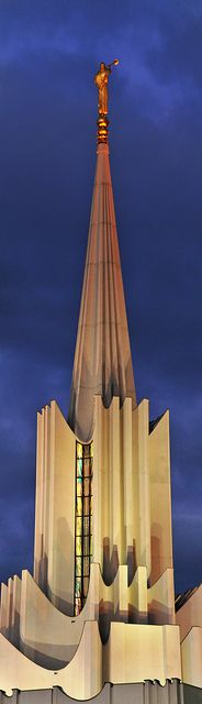 Jordan River Temple Our primary donated change to build this temple. Also my first temple open house.
