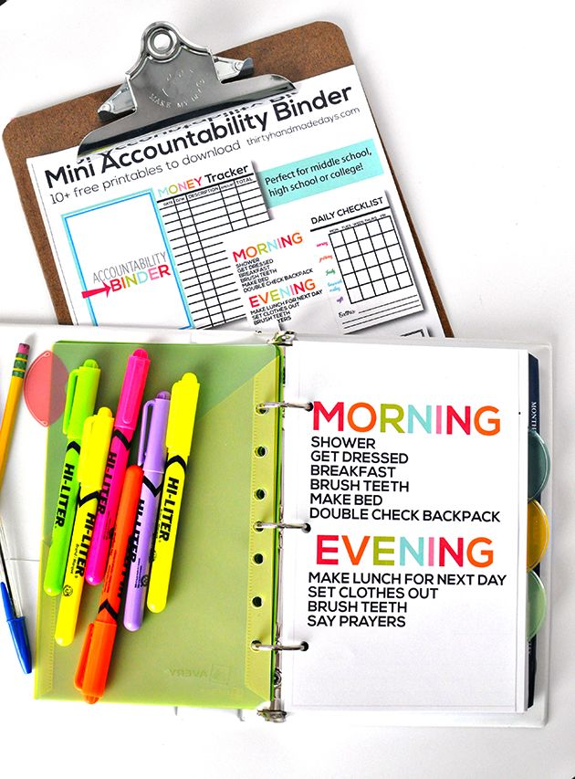 17 Best images about School organizing on Pinterest ...  Organized Student Binder