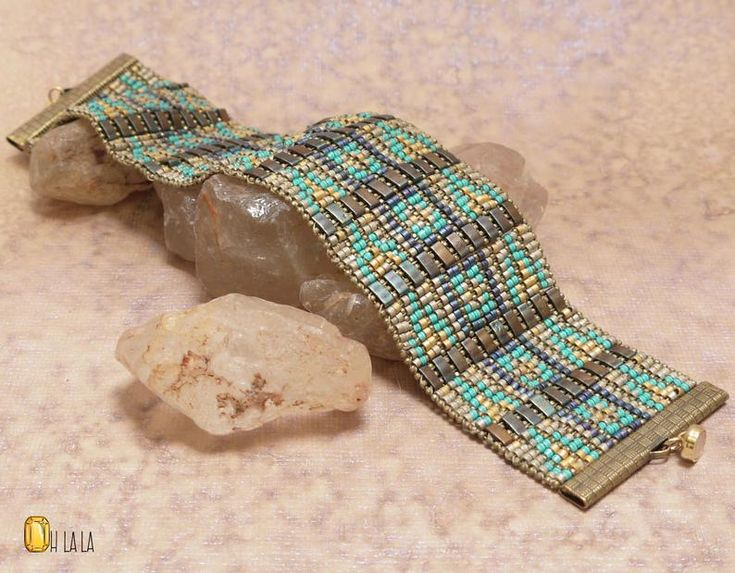 Bracelet Bracelet • Bracelets pour femmes • manchette or Bracelet • déclaration Bracelet • cadeau pour elle par Ohlala bijoux en perles