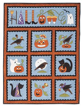 Pumpkin Party Panel Projects Pattern Download Free Quilting Pattern