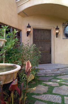 Front entry - mediterranean - entry - san francisco - Nunley Custom Homes