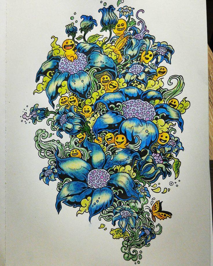 """""""The flowers;) #doodleinvasion #doodle #inwazjabazgrołów #inwazjabazgrolow…"""
